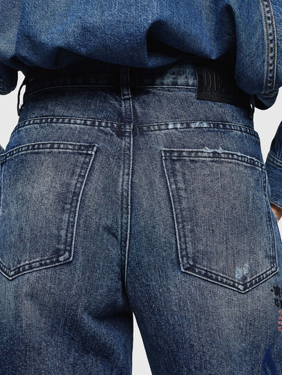 Diesel - Widee 0092Z, Blu medio - Jeans - Image 5