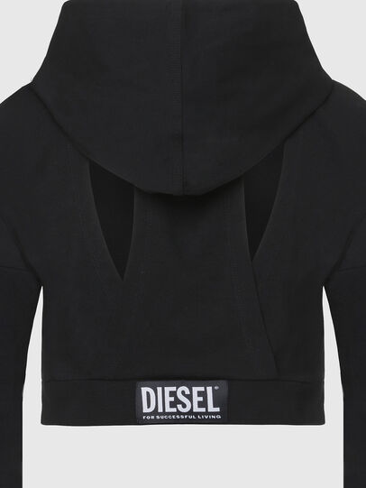 Diesel - UFLT-ANGHEL, Nero - Felpe - Image 3