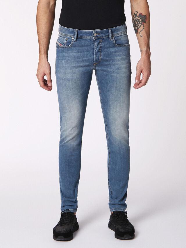 Diesel - Sleenker 084RV, Blu Jeans - Jeans - Image 1