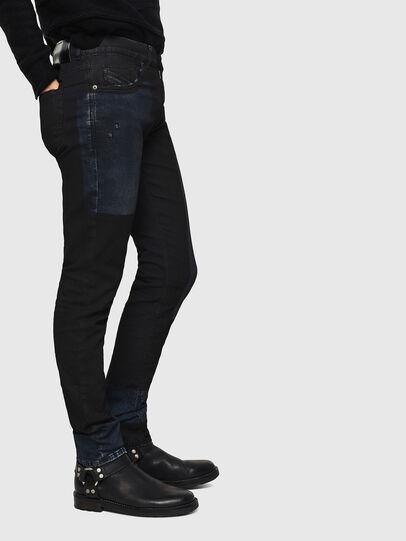 Diesel - TYPE-2813FS-NE, Blu Scuro - Jeans - Image 5