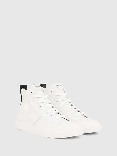 Diesel - S-ASTICO MID LACE, Bianco - Sneakers - Image 2
