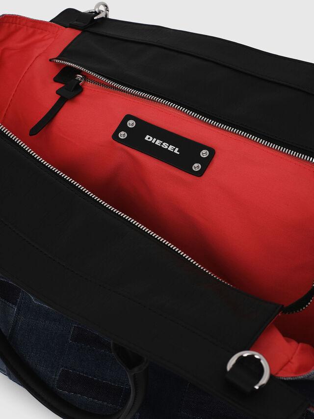 Diesel - F-DESTAR SHOPPER M, Blu Jeans - Shopper e Borse a Spalla - Image 4