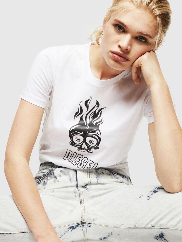 T-SILY-WQ, Bianco - T-Shirts