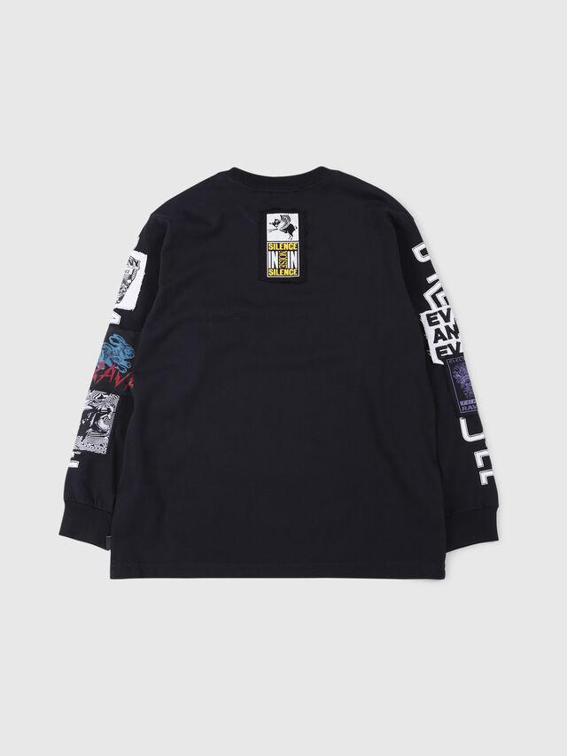 Diesel - TJUSTLSWA OVER, Nero - T-shirts e Tops - Image 2