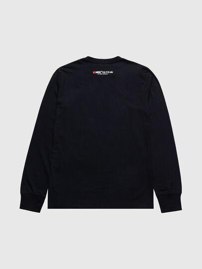 Diesel - US-T-JUST-LS, Nero - T-Shirts - Image 2
