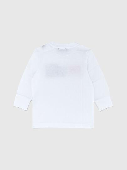 Diesel - TDIEGOCUTYB ML, Bianco - T-shirts e Tops - Image 2