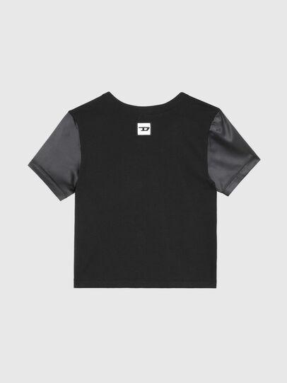 Diesel - UFTEE-ROUNDIE-SAT, Nero - T-Shirts - Image 2