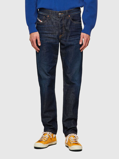 Diesel - D-Fining 09A12, Blu Scuro - Jeans - Image 1