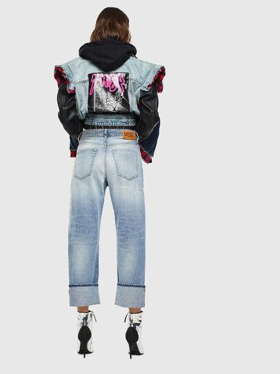Diesel - D-Reggy 0098V, Blu Chiaro - Jeans - Image 2