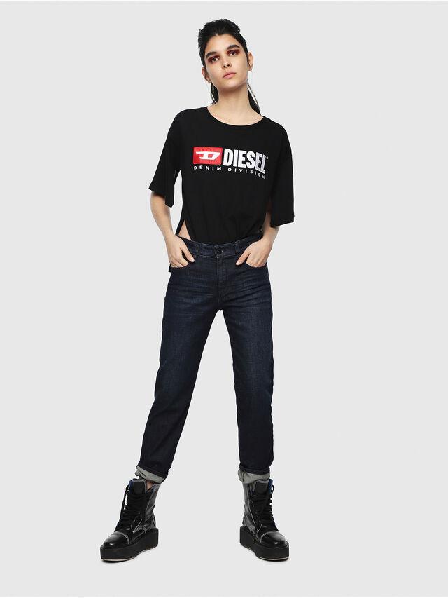 Diesel - D-Rifty 080AK, Blu Scuro - Jeans - Image 4