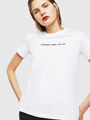 T-SILY-COPY, Bianco - T-Shirts