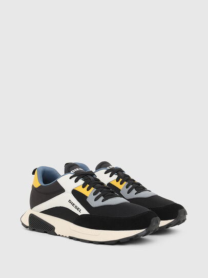 Diesel - S-TYCHE LOW CUT, Nero/Bianco - Sneakers - Image 2