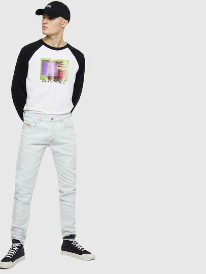 Diesel - T-RODDI, Bianco/Nero - T-Shirts - Image 5