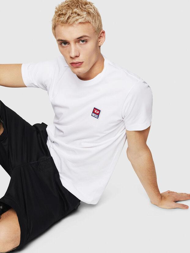 T-DIEGO-DIV, Bianco - T-Shirts