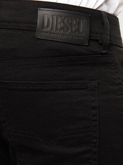 Diesel - Sleenker 069EI, Nero/Grigio scuro - Jeans - Image 3