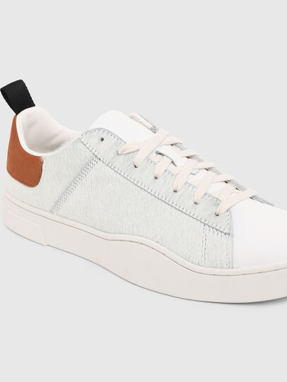 Diesel - S-CLEVER LOW LACE, Bianco/Marrone - Sneakers - Image 5