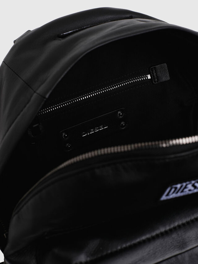 Diesel - LE-ZIPPER BACKPACK, Nero - Zaini - Image 4