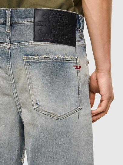 Diesel - D-MACS-SHORT, Blu Chiaro - Shorts - Image 4