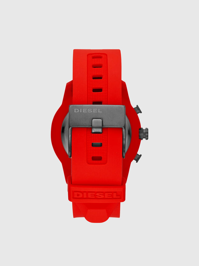 Diesel - DT1016, Rosso - Smartwatches - Image 3