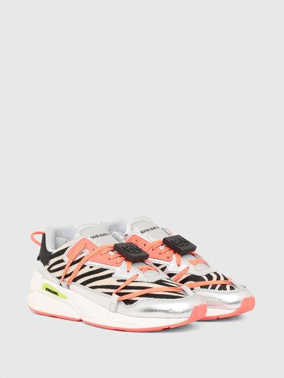 Diesel - S-SERENDIPITY LC EVO, Bianco/Rosa - Sneakers - Image 2
