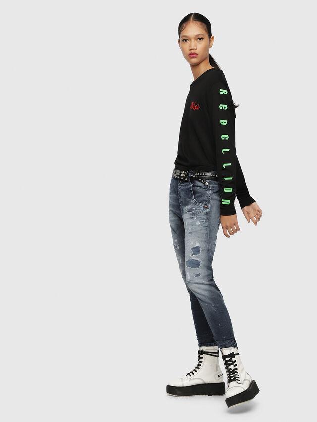 Diesel - Fayza JoggJeans 069CC, Blu Scuro - Jeans - Image 4