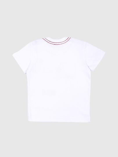 Diesel - TOQUEB MC, Bianco - T-shirts e Tops - Image 2