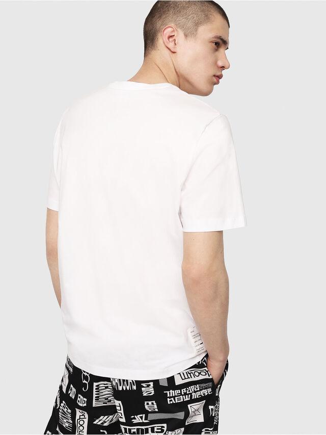 Diesel - T-JUST-Y7, Bianco - T-Shirts - Image 2