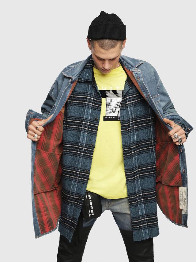 Diesel - D-LOREN, Blu Jeans - Giacche in denim - Image 4