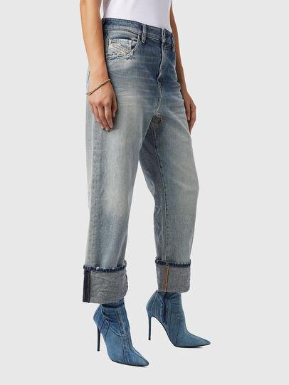 Diesel - D-Reggy 09B11, Blu Chiaro - Jeans - Image 6
