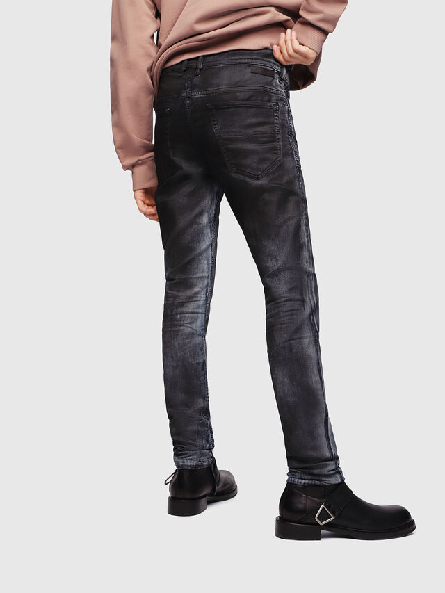 Diesel - Thommer JoggJeans 086AZ, Nero/Grigio scuro - Jeans - Image 2