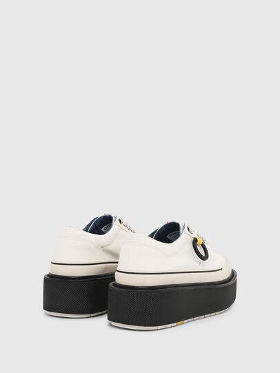 Diesel - H-SCIROCCO LOW, Bianco/Rosa - Sneakers - Image 3