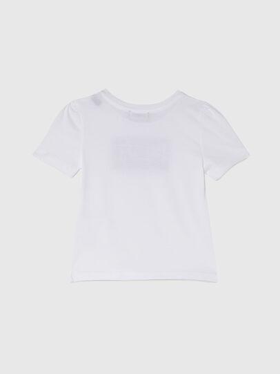 Diesel - TRIDGEB-R, Bianco - T-shirts e Tops - Image 2