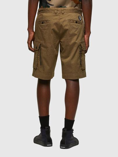 Diesel - P-APE, Verde Militare - Shorts - Image 2