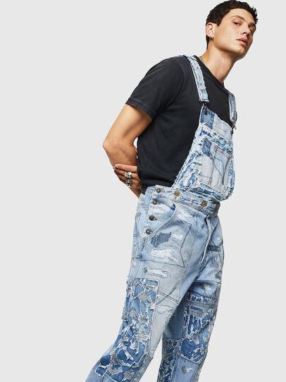 Diesel - D-HARU-SY, Blu Jeans - Tute e Salopette - Image 5