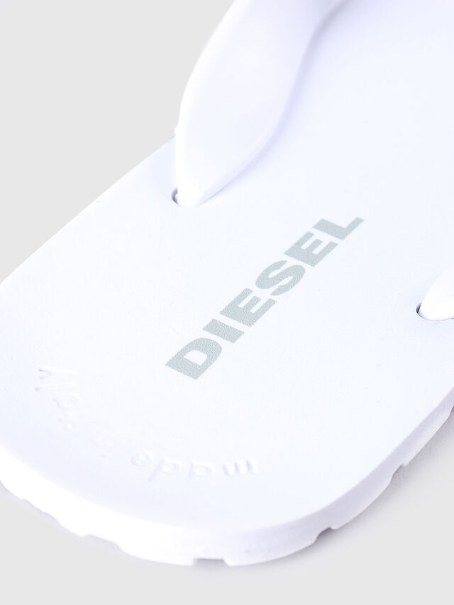 Diesel - SPLISH, Bianco - Ciabatte - Image 3