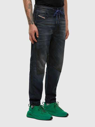 Diesel - D-Skint JoggJeans® 069PE, Blu Scuro - Jeans - Image 6