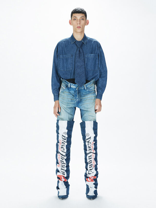 Diesel - SOPKN01, Blu Jeans - Jeans - Image 8