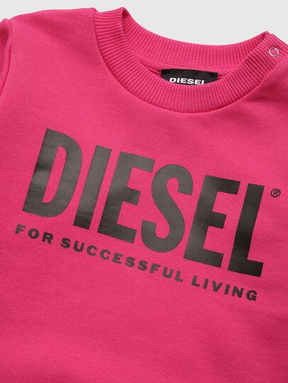 Diesel - SCREWDIVISION-LOGOB, Rosa - Felpe - Image 3