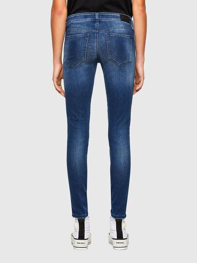 Diesel - Slandy Low 009FE, Blu Scuro - Jeans - Image 2