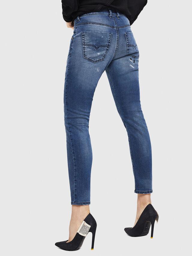 Diesel - Krailey JoggJeans 069HA, Blu medio - Jeans - Image 2