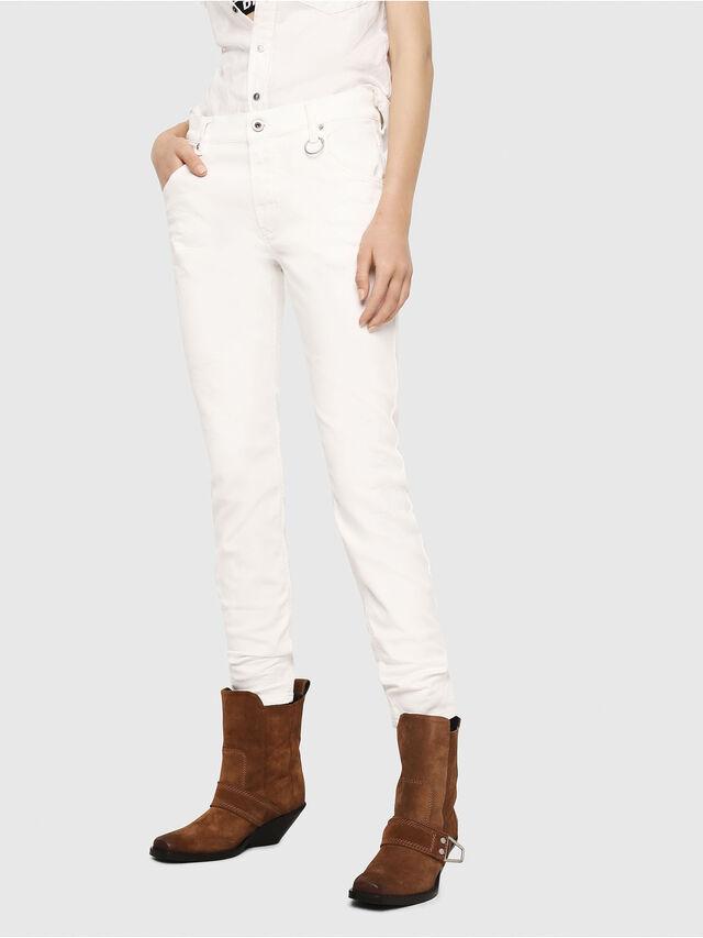 Diesel - Krailey JoggJeans 069DS, Bianco - Jeans - Image 1