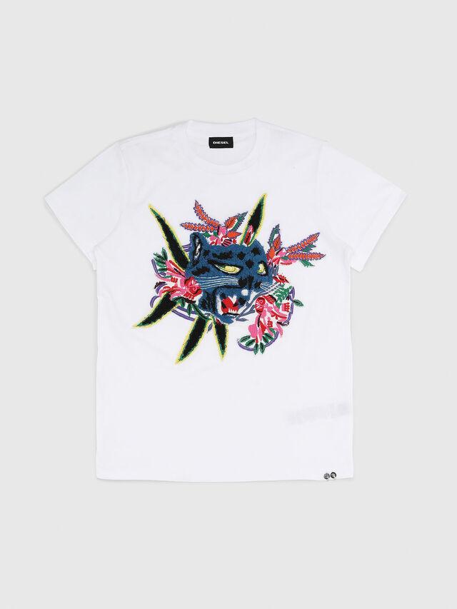 Diesel - TDIEGOFLX, Bianco - T-shirts e Tops - Image 1