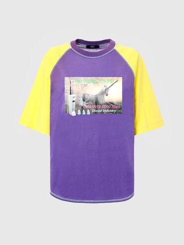 T-shirt in canapa e cotone biologico