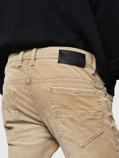 Diesel - Thommer 0890E, Marrone Chiaro - Jeans - Image 4