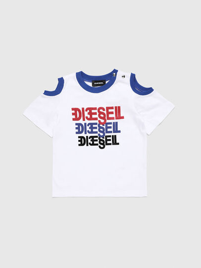 Diesel - TANIURAB, Bianco - T-shirts e Tops - Image 1