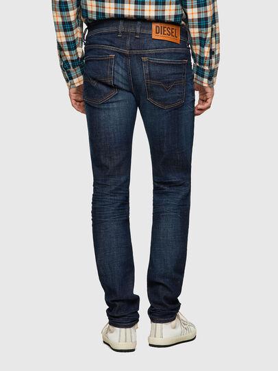 Diesel - Sleenker 09A43, Blu Scuro - Jeans - Image 2