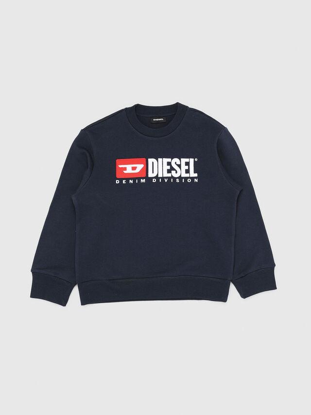 Diesel - SCREWDIVISION OVER, Blu Navy - Felpe - Image 1
