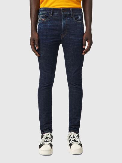 Diesel - D-Amny 09A84, Blu Scuro - Jeans - Image 1