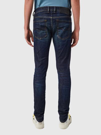 Diesel - Sleenker 09B07, Blu Scuro - Jeans - Image 2