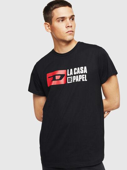 Diesel - LCP-T-DIEGO-CASA, Nero - T-Shirts - Image 1